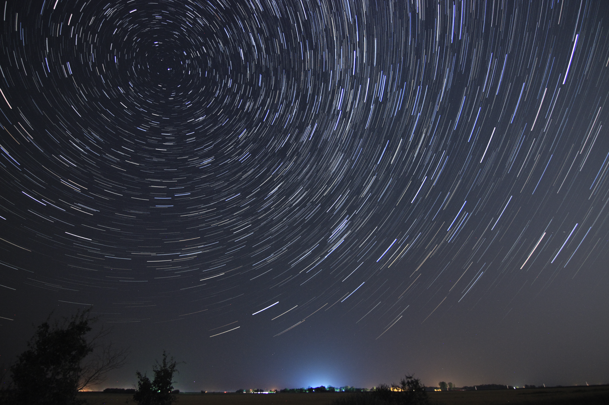 Star Trails, Aug. 12, 2018