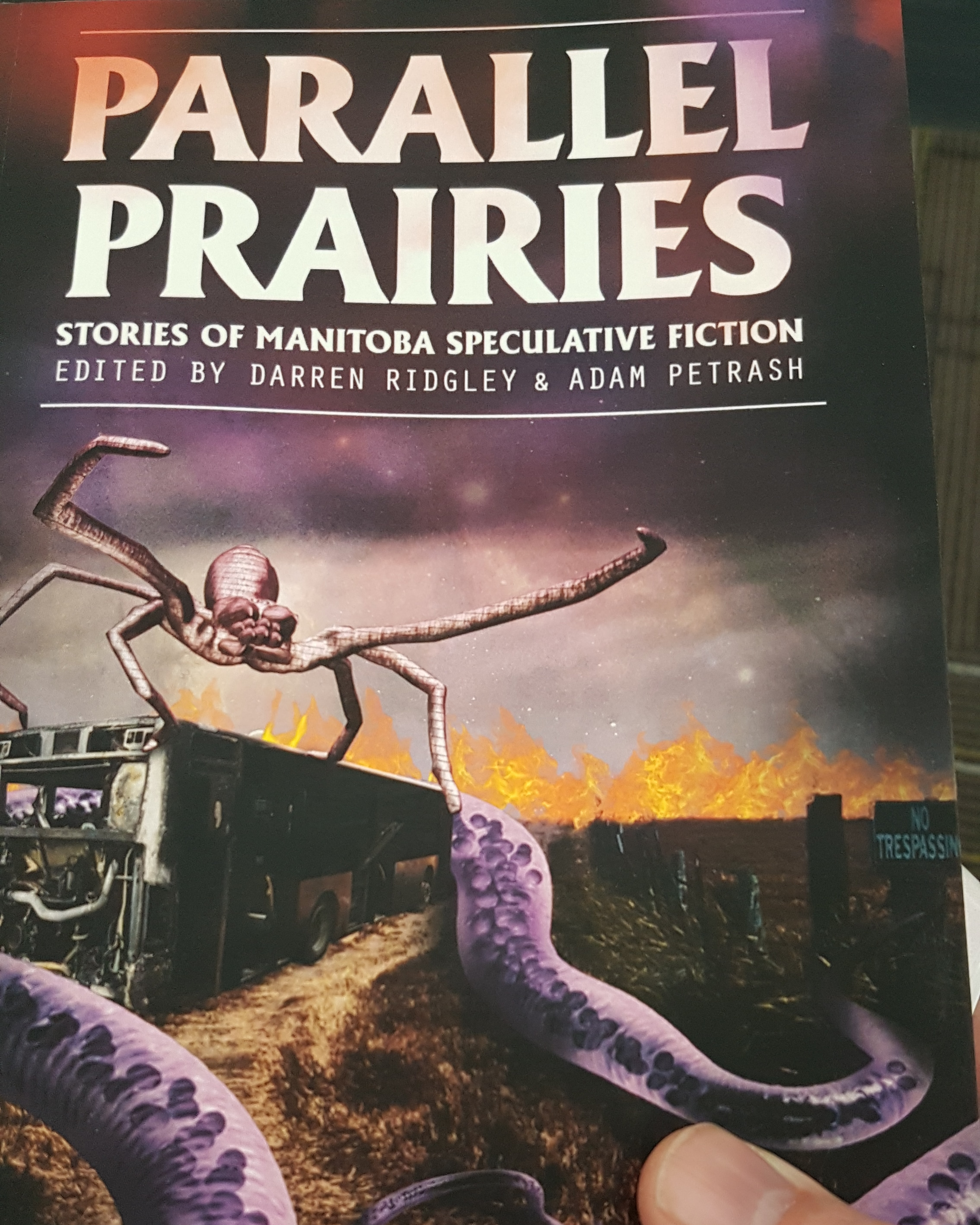 The cover of Parallel Prairies
