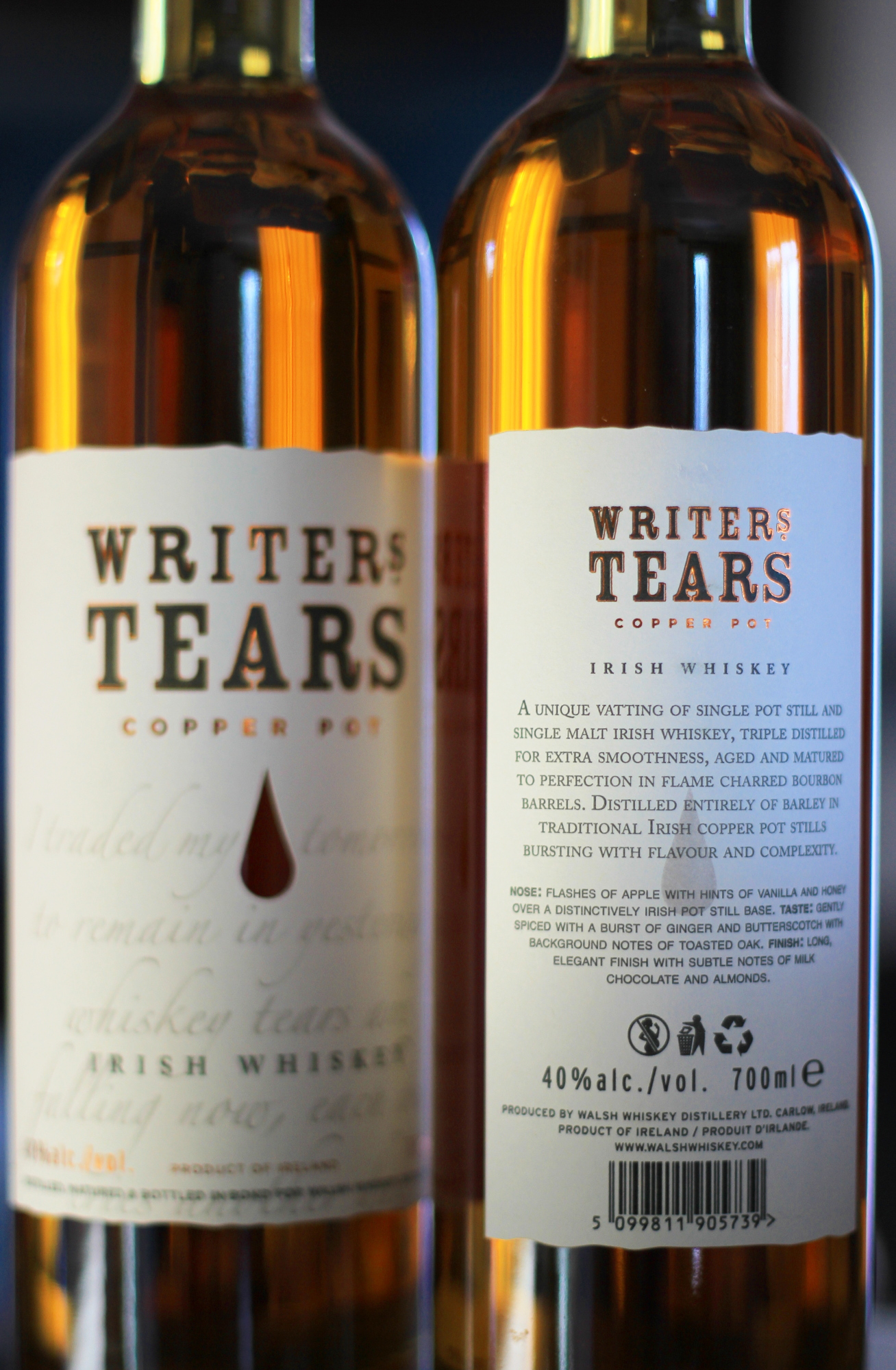 Writer's Tears Irish Whiskey