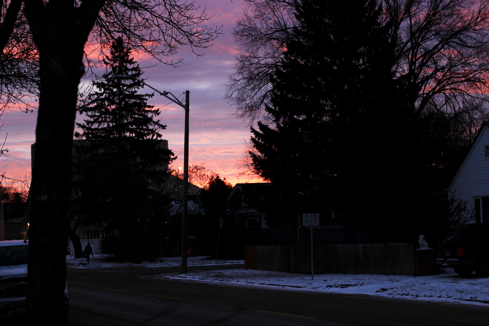 Sunrise on Hallowe'en