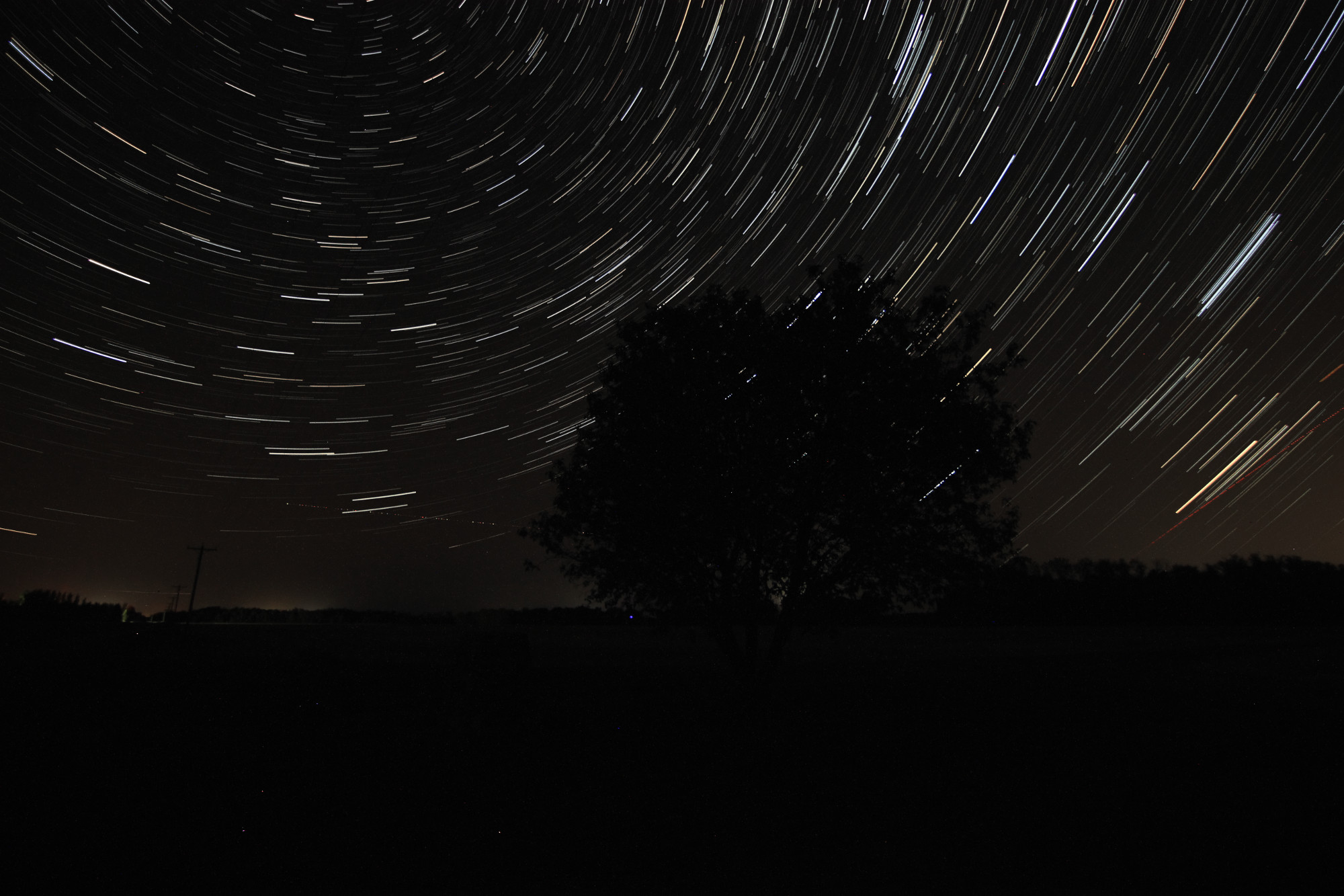 Star Trails at Image Hill