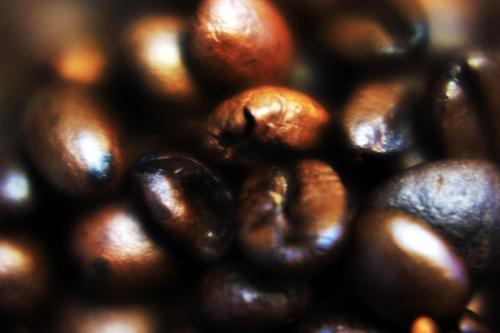 Coffee beans (macro)