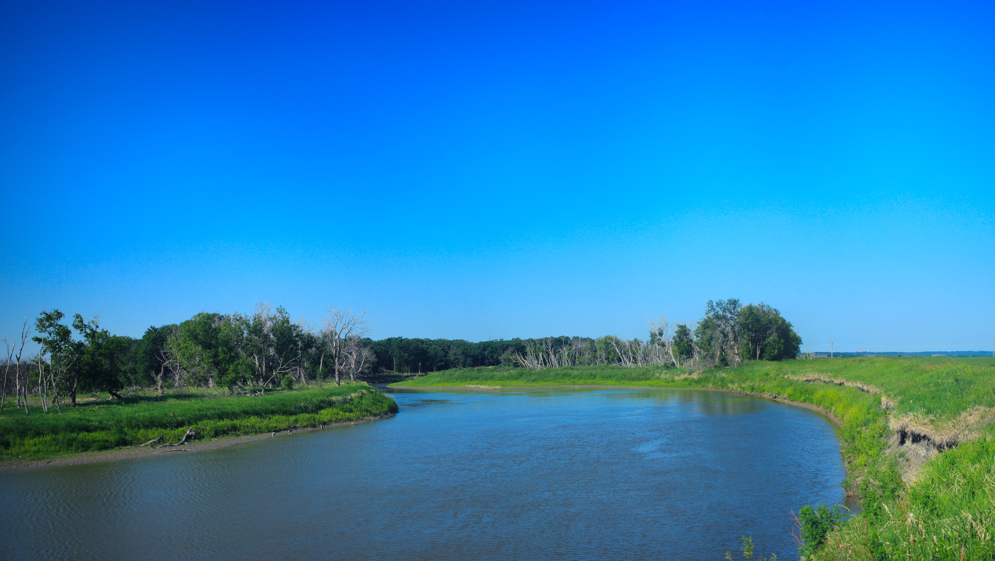 Panorama of the Assiniboine River